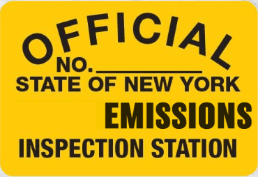 Official State of New York Emissions Inspection Station